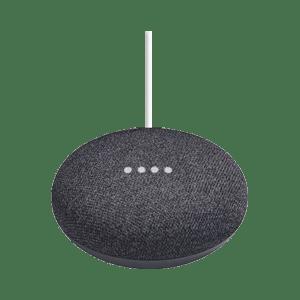 Google Home Mini Houtskool