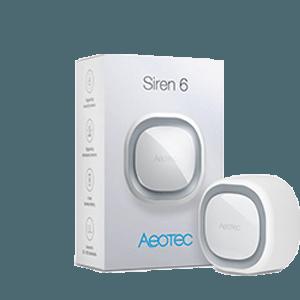 Aeotec Siren6 verpakking
